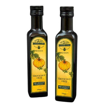 Olej Tekvicový Natural Cannalife 250 ml