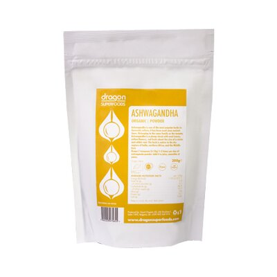 Ashwagandha Bio Raw Dragon Superfoods 200 g