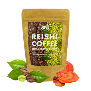 Reishi Roasted & Green Coffe Ani 100 g