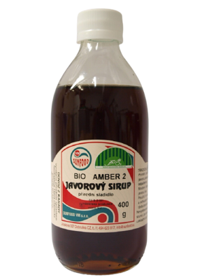 Sirup Javorový Sunfood 400 ml